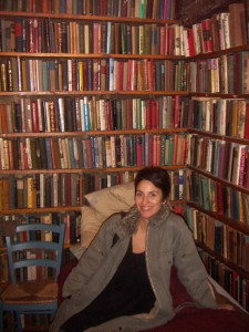 Me at Shakespeare and Company, in Paris. The bookstore that feels like a place I could quite happily live for the rest of my life.